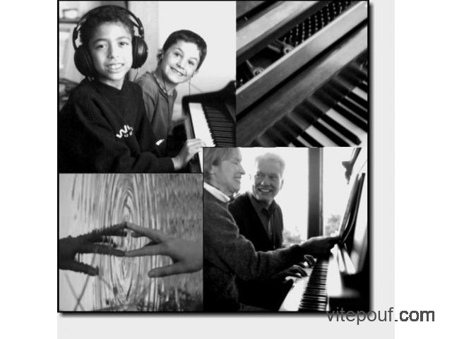 Cours de Piano, Les 5 touches noires