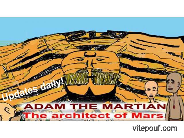 Adam le Martien. L'architecte de Mars.