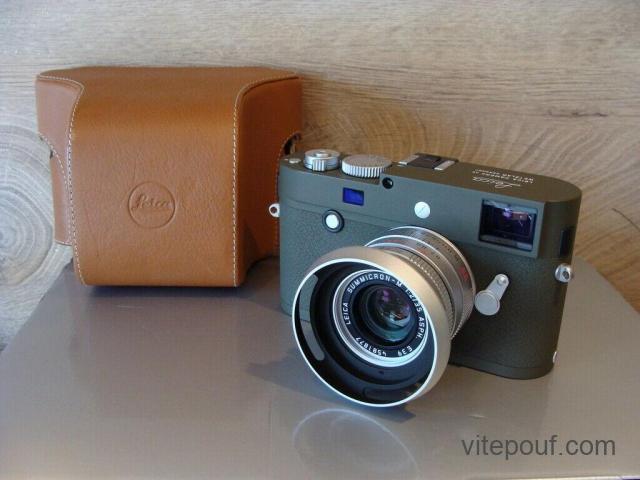 "Leica 10933-Leica M-P ""Safari edition"" Kit 2/35mm ASPH 6-bit optique-NEUF dans sa boîte"